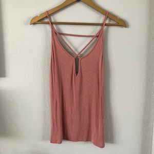 ✨Express one eleven pink tank top